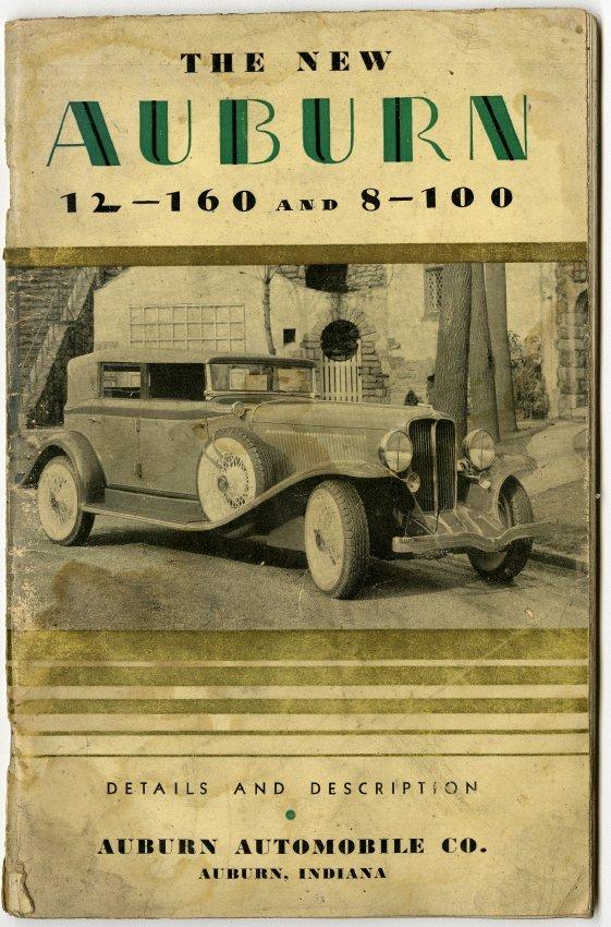 Salesmen Handbook for Auburn Automobiles - John Martin Smith ...