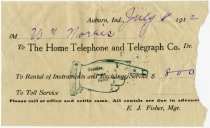 Image of The Home Telephone & Telegraph Company - John Martin Smith Miscellaneous Collection