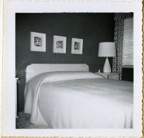 Image of Bedroom view of the Ralph Mutzfeld house - John Martin Smith Miscellaneous Collection