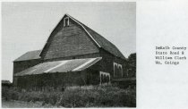 Image of William Clark and William Goings Barn - John Martin Smith Miscellaneous Collection
