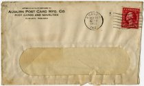 Image of Auburn Post Card Mfg. Company Envelope - John Martin Smith Miscellaneous Collection