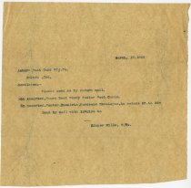 Image of Filled in order form for Auburn Post Card Mfg. Company - John Martin Smith Miscellaneous Collection