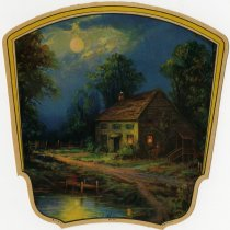Image of Rustic House fan - John Martin Smith Miscellaneous Collection