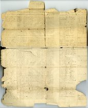 Image of Civil War Roster - John Martin Smith Miscellaneous Collection