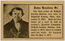 Image of Invitation to 23rd Houlton Family Reunion - Extraordinary Hoosiers: John Martin Smith Collection