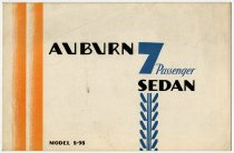 Image of Auburn 7 Passenger Sedan Model 8-98 - John Martin Smith Miscellaneous Collection