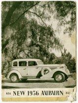 Image of 654 New 1936 Auburn 852 - John Martin Smith Miscellaneous Collection