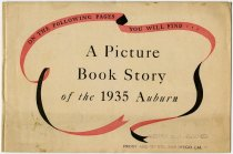 Image of A Picture Book Story of the 1935 Auburn - John Martin Smith Miscellaneous Collection