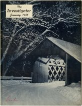 Image of The Investigator January 1955 Article - Extraordinary Hoosiers: Don Lash Collection