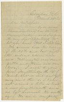 Image of Letter from Wilbur F. Hodge to his brother and sister