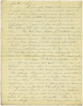 Image of Letter from Wilbur F. Hodge