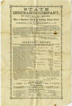 Image of State Insurance Company License to Conduct Business. - John Martin Smith Miscellaneous Collection