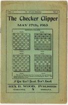 """Image of """"The Checker Clipper"""". - John Martin Smith Miscellaneous Collection"""