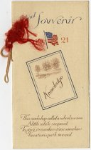 Image of 1921 Souvenir for Lyons School, Stafford Township, DeKalb County, Indiana  - John Martin Smith Miscellaneous Collection