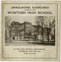 Image of 1921 Auburn High School Commencement, Auburn, Indiana - John Martin Smith Miscellaneous Collection