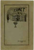 Image of 1915 Butler, Indiana High School Booklet titled Comet - John Martin Smith Miscellaneous Collection