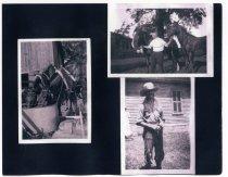 Image of Mott-Hodge Family Photo Album - Page 21  - Extraordinary Hoosiers: John Martin Smith Collection