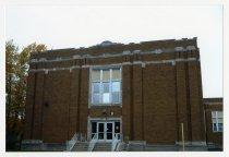 Image of McKenny-Harrison School Building, Door 8 - McKenny-Harrison School Photographs