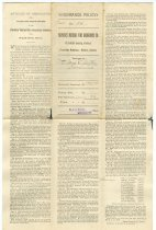 Image of Farmers' Mutual Fire Insurance Co. Policy - John Martin Smith Miscellaneous Collection