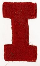 Image of 2014.12.06 - This is Don Lash's IU Varsity Letter.