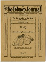 Image of No Tabacco Journal Published by No-tobacco Literature. - John Martin Smith Miscellaneous Collection