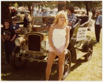 Image of Auburn Model A at 1982 ACD Festival - Jack Randinelli ACD Collection