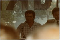 Image of Speech at the 1984 ACD Festival  - Jack Randinelli ACD Collection
