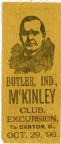 Image of Butler McKinley Club Excursion to Canton, OH Advertisement. - John Martin Smith Miscellaneous Collection