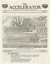 Image of Accelerator newsletter  - Jack Randinelli ACD Collection