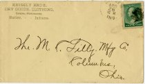 Image of Knisley Bros. Envelope. - John Martin Smith Miscellaneous Collection