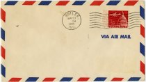 Image of Air Mail Envelope Postmarked With the Date of Butler Airport Opening. - John Martin Smith Miscellaneous Collection