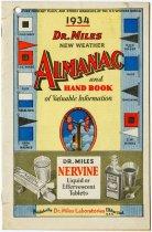 Image of Dr. Miles New Weather Almanac - John Martin Smith Miscellaneous Collection