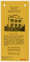 Image of Historic Canal House Advertisement - Jack Randinelli ACD Collection