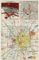 Image of Indianapolis Road Map Used By ACD Hoosier Tour, 1976 - Jack Randinelli ACD Collection