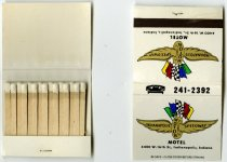 Image of 2016.06.01 - These are small packets of matches from the Indianapolis Motor Speedway Motel.