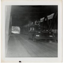 Image of Spencerville Covered  Bridge Photograph - John Martin Smith Miscellaneous Collection