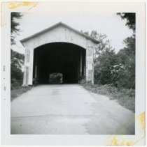 Image of Hades Ford Covered  Bridge Photograph - John Martin Smith Miscellaneous Collection