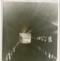 Image of Covered Bridge Inside Photograph  - John Martin Smith Miscellaneous Collection