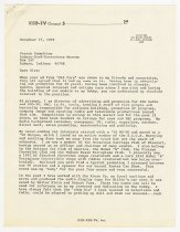 Image of Letter and Resume for the ACD Museum Search Committee from Harry Honig - Jack Randinelli ACD Collection