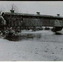 Image of Cedar Chapel Covered Bridge Photograph  - John Martin Smith Miscellaneous Collection