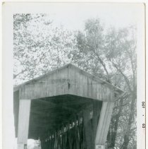 Image of Cedar Chapel Covered Bridge Photograph