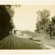 Image of Covered Bridge Photograph  - John Martin Smith Miscellaneous Collection