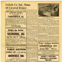 Image of Dekalb County Covered Bridges Article  - John Martin Smith Miscellaneous Collection