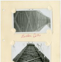 Image of Dills Covered Bridge Underside Photographs  - John Martin Smith Miscellaneous Collection