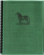 Image of Photocopy of the 1894 Journal of the National Horse Thief Detective Association, 34th Annual Session, Attica, Fountain County, Indiana - John Martin Smith Miscellaneous Collection