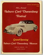 Image of 19th ACD Festival Souvenir Book - Jack Randinelli ACD Collection