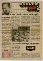 Image of 1975 ACD Festival Labor Day Weekend Newspaper - Jack Randinelli ACD Collection