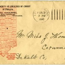 Image of Missionary Society of Churches of Christ Envelope  - John Martin Smith Miscellaneous Collection