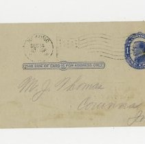 Image of Globe Stove and Range Company Order Acknowledgment  - John Martin Smith Miscellaneous Collection