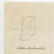 Image of Itinerary and emergency contact list for 4th Annual Auburn Cord Duesenberg Tour - Jack Randinelli ACD Collection